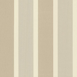 Brewster Home Fashions - Horizon Gold Stripe Wallpaper Bolt - A wide stripe  Wallpaper with brilliant boutique style flair. Glitter ink adds a seductive twinkle to the otherwise neutral palette.
