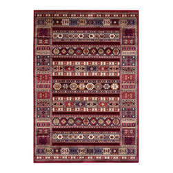 """Couristan - Cire` Jerrico Rug 1357/1210 - 2'1"""" x 3'7"""" - True works of art for your floor, these area rugs are designed to adorn traditional stylings, as well as contemporary. Use a secondary color found in the palette of the area rug as inspiration for wall paint and add throw pillows with similar textures, to add a designer flair."""
