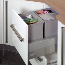 modern kitchen trash cans by Your German Kitchen