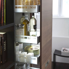 Contemporary Pantry Cabinets by Belle Design Build