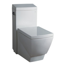 "Atlas International Inc - Toilet - Ariel Platinum Contemporary One Piece ""Aphrodite"" (White) - Modern Eco-Friendly One Piece White toilet. Ariel cutting-edge designed one-piece toilets with powerful flushing system. It's a beautiful, modern toilet for your contemporary bathroom remodel."