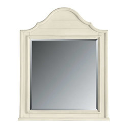 Stanley Furniture - Coastal Living Cottage-Arch Top Mirror - Finish: Sand Dollar