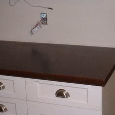 Contemporary Kitchen Countertops by Concreteideas.com