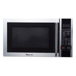 MAGIC CHEF - MAGIC CHEF MCM1110ST 1.1 Cubic-ft, 1,000-Watt Microwave with Digital Touch (Stai - � 1.1 cu ft capacity;� 1,000W;� Digital touch;� 10 power levels;� Express cooking functions;� Electronic controls with LED display;� Kitchen timer/clock;� Turntable;� Weight & time defrost;� 8 quick-set menu buttons;� Easy-to-use door;�Stainless Steel