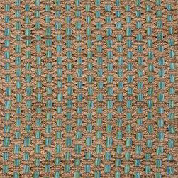 "Jaipurrugs - Jute/Cotton Taupe/Blue Wallington Rectangle Rug Border Color Sea Glass 24"" x 40"" - Naturals Solid Pattern Jute/ Cotton Taupe/Blue Wallington Rectangle Area Rug Border Color Sea Glass 24"" x 40""."