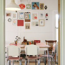 Eclectic Dining Room by Sweet William