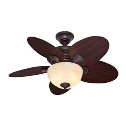Hunter - Indoor Ceiling Fans: Hunter Carmen 34 in. Indoor New Bronze Ceiling Fan 51004 - Shop for Lighting & Fans at The Home Depot. This transitional-style Hunter Carmen 34 in. Ceiling Fan has a new bronze finish and an Italian amber scavo bowl light fixture. This 3-speed, reversible flow ceiling fan features 5 reversible blades that let you change the fan blade finish from English cherry to peppered walnut without changing the entire unit.