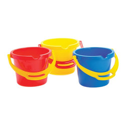 """The Original Toy Company - The Original Toy Company Kids Children Play Bucket Time - 6 1/2"""" deep. Ages 3 years plus. Weight: 1 lbs."""