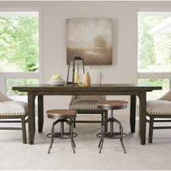 Great Rooms Millhouse 5 Piece Dining Set with Sling Chairs