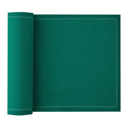 MYdrap - Cotton Luncheon Napkin, Emerald - - MYdrap Cotton Luncheon Napkins on a Roll are made of 100% cotton.