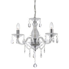 L2-1262 Florian Clear Glass Chandelier
