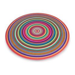 Antony Joseph Coloured Rings Cutting Board