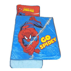 Jay Franco and Sons - Marvel Comics Spider-Man Go Spidey Toddler Nap Mat - FEATURES: