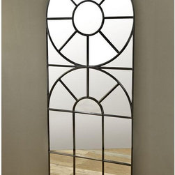 Bobo Intriguing Objects Cathedral Iron Mirror - This incredible cathedral-style mirror would work wonders in a space without many windows — hang it on the wall and it looks like you've got a view to the outdoors!