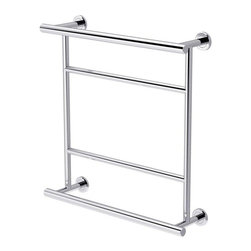 Gatco - Gatco 155 Towel Bar - 640746 - Shop for Towel Bars Hooks and Rings from Hayneedle.com! About Gatco Fine BathwareGatco Fine Bathware is a privately held corporation based in the San Francisco Bay Area. For over 30 years Gatco s designs high-quality and smart value have made them the premier choice of consumers. Their line of designer bath collections ranges from traditional to modern making it easy to find bath products that complement your style. Towel bars mirrors grab bars shower curtain rods hooks and free-standing countertop accessories round out their extensive product list.