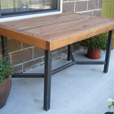 traditional dining tables by Etsy