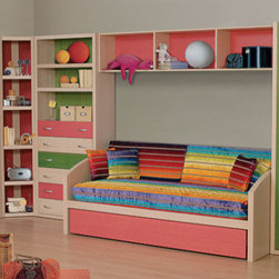 Baby Rooms - Children develop and learn through playing. They need items that spark their imagination and help them to discover new things about the world. When designing your child's bedroom, try the Morfeas Kids Bedroom Collection from Lattas. It is comprised of functional pieces that help your child to play, learn, and rest. Some of the pieces are joined together to create room in shared bedrooms.
