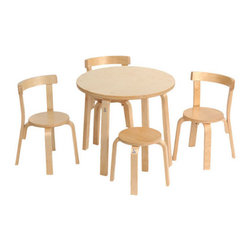 Svan Play With Me Toddler Table And Chairs - Most child-sized tables and chairs I've seen lately are not parent friendly. When I found this toddler table and chair set, I was excited to learn that it was sturdy enough for me and my husband to use.