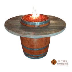 Zin Fire Pit - Michael Weisberg & Fivespot Marketing Inc.