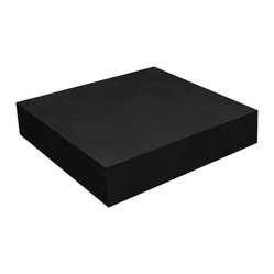 "Floating Shelf 10"", Black"