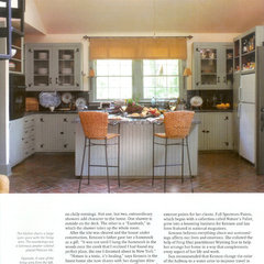 eclectic kitchen by Ellen Kennon