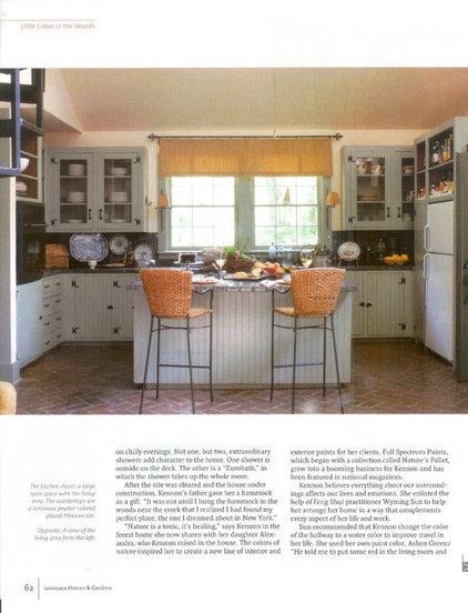 Eclectic Kitchen by Ellen Kennon