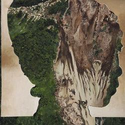 Landslide, Original, Painting - Original Oil painting on Canvas. Mixing landslides and or heads.