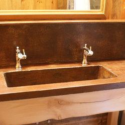 Shop Eclectic Bathroom Vanities on Houzz