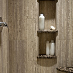 contemporary bathroom by Nancy Finneson, AKBD, CAPS / DeMane Design