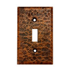 Premier Copper Products - Copper Switchplate Single Toggle Switch Cover - Dimensions: 2.75 in. x 4.5 in.