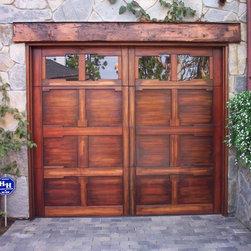 Our Custom Wood Garage Doors -
