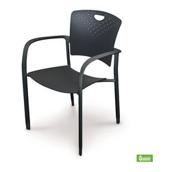 Best Rite - 35H x 22.25W x 22.25D Oui Chair Set of 4 - Elegant and stylish the Oui Stacking Chair is ideal for public and private reception areas.