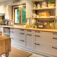 Rustic Kitchen Cabinets by ABEL design