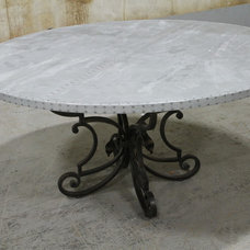 Industrial Dining Tables by ECustomFinishes