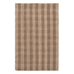"""Surya - Surya Country Jutes CTJ-2026 3'6"""" x 5'6"""" Praline, Driftwood Brown Rug - Another inspired ensemble from Country Living, the Country Jutes Collection exemplifies the essence of casual style. Hand-woven from all natural jute in monochromatic shades of beige, each rug combines fibers to create a variety of patterns that exude a simple elegance ideal for traditional to transitional interiors."""