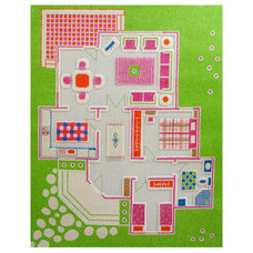 eclectic kids rugs by UncommonGoods