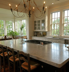 traditional kitchen by Alix Bragg Interior Design