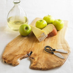 eclectic knives and chopping boards by VivaTerra