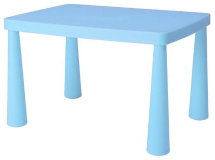 Eclectic Kids Tables And Chairs by IKEA