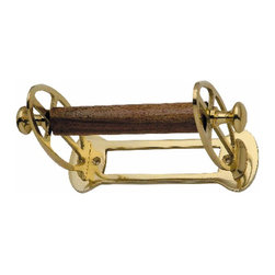Renovators Supply - Toilet Paper Holder Brass Simplicity Tissue Holder P/L - Antique Toilet Tissue Holders: Beautifully ornate these reproduction tissue holders brighten up any bathroom. Made of 100% solid brass and polished & lacquered these tissue holders are tarnish-resistant for many years to come.