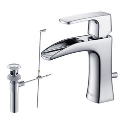 RIVUSS - RIVUSS Carrión FBS-300 - Lead-Free Solid Brass Single-lever Bathroom Faucet    , - RIVUSS Carrión FBS-300