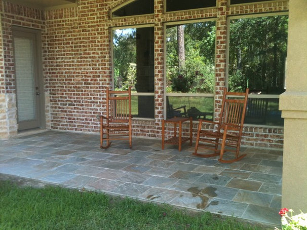 Traditional Deck by Western Patio Company