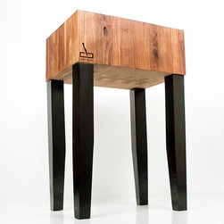 Butcher Blocks - The Loft Butcher Block is the pinnacle of standing Butcher Blocks, a strong industrial construction make this butcher block a top choice for professionals, chefs, and hobbyists throughout the world. Get your hands on your very own Loft Butcher Block today.
