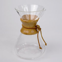 Chemex 10 Cup Coffee Maker - For weekend mornings when slowing down is on the agenda, the Chemex brews a wonderful cup of coffee each and every time.