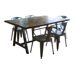 Rustic Modern Architect Table