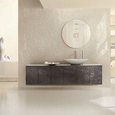 Modern Kitchen Cabinets by Stone Trend Design & Build Inc.