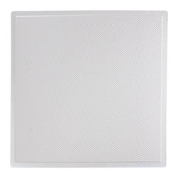 """Sahara Ceiling Tile - White - Perfect for both commercial and residential applications, these tiles are made from thick .03"""" vinyl plastic. Their lightweight yet durable construction make these tiles easy to install. Waterproof, these tiles are washable and won't stain due to humidity or mildew. A perfect choice for anyone wanting to add that designer touch at an amazing price."""