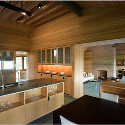 Vermont Structural Slate Company - Kitchen Slate Flooring - Architect: Peter Rose.