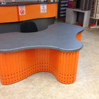 Furniture by ARTTIG LTD - Custom Designed and fabricated for Vision Care Consultants Optical Store.