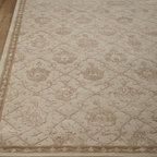 "Horchow - Miranda Rug, 3'9"" x 5'9"" - With its intricate floral lattice pattern, this regal rug sets a new standard in quality and beauty that rivals the world's finest heirloom rugs. It makes an elegant centerpiece for any room. Handmade of New Zealand wool. Exquisitely hand carved with...."